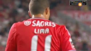 SL Benfica, Jogada, Lima aos 20'