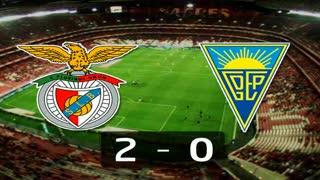 I Liga (22ªJ): Resumo SL Benfica 2-0 Estoril Praia