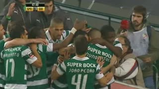 GOLO! Sporting CP, Marcos Rojo aos 48', Sporting CP 1-0 Vitória SC