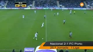 Liga (25.ª J): Resumo Nacional 2-1 FC Porto