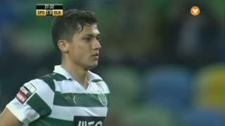 Sporting CP, Jogada, Montero aos 27'