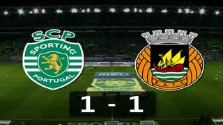 5ª J: Resumo Sporting 1-1 Rio Ave