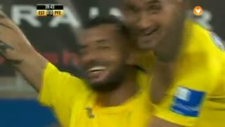 GOLO! Estoril Praia, João Pedro Galvão aos 40', Estoril Praia 1-0 FC P.Ferreira