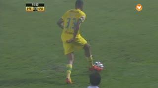 FC P.Ferreira, Jogada, Bebé aos 45'