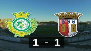 Liga (28ª J): Resumo V. Setúbal 1-1 Sp. Braga