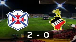 I Liga (7ªJ): Resumo Belenenses 2-0 SC Olhanense