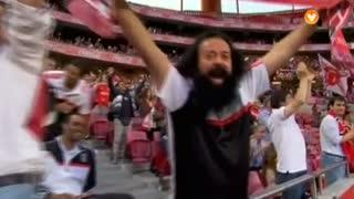 GOLO! SL Benfica, Siqueira aos 15', SL Benfica 1-0 CD Nacional