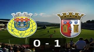 Liga (5ª J): Resumo Arouca 0-1 Sp. Braga
