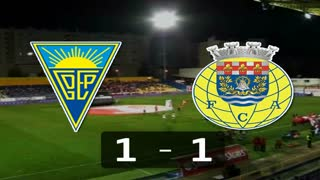 Liga (17.ª J): Resumo Estoril 1-1 Arouca