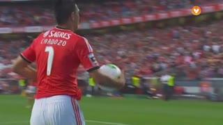 GOLO! SL Benfica, Cardozo aos 17', SL Benfica 1-0 Belenenses