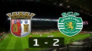 6ª J: Resumo Sp. Braga 1-2 Sporting