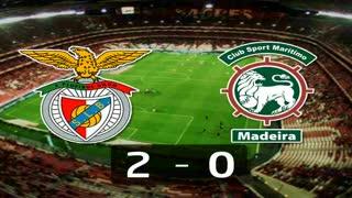 I Liga (16ªJ): Resumo SL Benfica 2-0 Marítimo M.