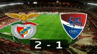 Liga (2ª J): Resumo Benfica 2-1 Gil Vicente