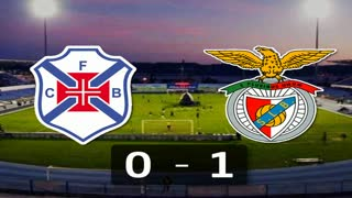Liga (21.ª J): Resumo Belenenses 0-1 Benfica