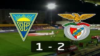 Liga (7ª J): Resumo Estoril 1-2 Benfica