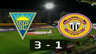 I Liga (1ªJ): Resumo Estoril Praia 3-1 CD Nacional