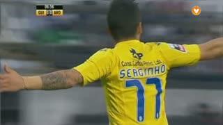 GOLO! FC Arouca, Sérginho aos 7', Vitória SC 0-1 FC Arouca