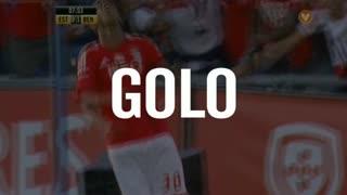 GOLO! SL Benfica, Talisca aos 8', Estoril Praia 0-2 SL Benfica