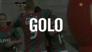 GOLO! Marítimo M., Fransérgio aos 38', Marítimo M. 3-0 Vitória SC