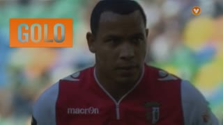 GOLO! SC Braga, Felipe Pardo aos 13', Sporting CP 0-1 SC Braga