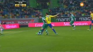 Sporting CP, Jogada, Adrien Silva aos 41'