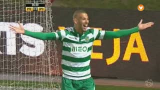 Sporting CP, Jogada, Slimani aos 7'