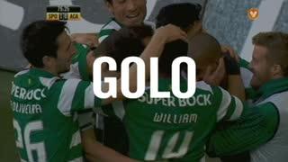 GOLO! Sporting CP, João Mário aos 76', Sporting CP 1-0 A. Académica