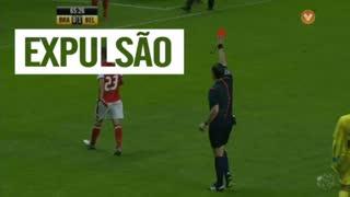 SC Braga, Expulsão, Pedro Santos aos 66'