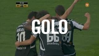 GOLO! CD Nacional, Tiago Rodrigues aos 22', SC Braga 0-1 CD Nacional