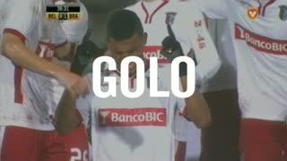 GOLO! SC Braga, Aderllan Santos aos 30', Os Belenenses 0-1 SC Braga