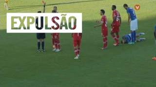 Gil Vicente FC, Expulsão, M. Berger aos 78'