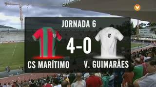 I Liga (6ªJ): Resumo Marítimo M. 4-0 Vitória SC