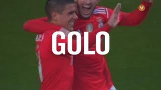 GOLO! SL Benfica, Maxi Pereira aos 33', SL Benfica 2-0 Boavista FC