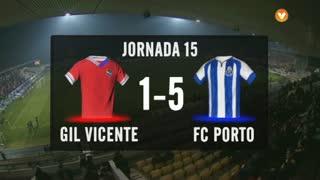 I Liga (15ªJ): Resumo Gil Vicente FC 1-5 FC Porto
