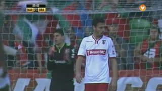 Marítimo M., Jogada, André Pinto aos 90'