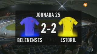 Liga (25ª J): Resumo Belenenses 2-2 Estoril