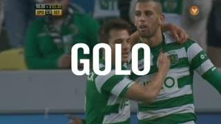 GOLO! Sporting CP, Slimani aos 93', Sporting CP 3-0 Vitória FC