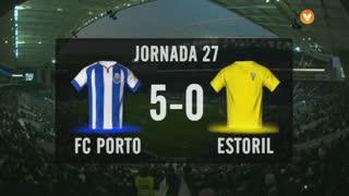I Liga (27ªJ): Resumo FC Porto 5-0 Estoril Praia