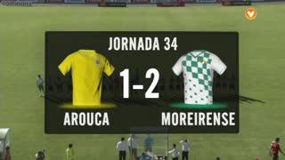 Liga (34ª J): Resumo Arouca 1-2 Moreirense