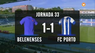 I Liga (33ªJ): Resumo Belenenses 1-1 FC Porto