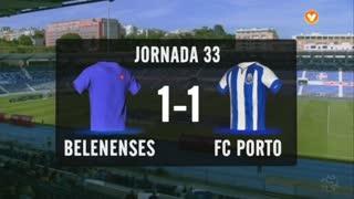 I Liga (33ªJ): Resumo Os Belenenses 1-1 FC Porto