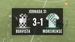 I Liga (31ªJ): Resumo Boavista FC 3-1 Moreirense FC