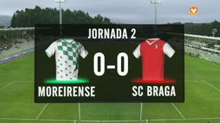 I Liga (2ªJ): Resumo Moreirense FC 0-0 SC Braga