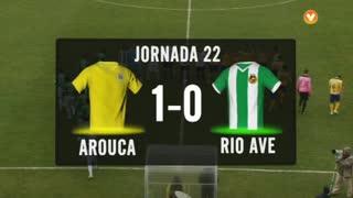 I Liga (22ªJ): Resumo FC Arouca 1-0 Rio Ave FC