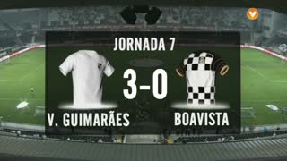 I Liga (7ªJ): Resumo Vitória SC 3-0 Boavista FC