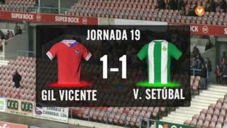 I Liga (19ªJ): Resumo Gil Vicente FC 1-1 Vitória FC