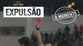 Vitória SC, Expulsão, Josué aos 18'