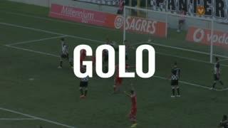 GOLO! Gil Vicente FC, Simy aos 56', Boavista FC 1-2 Gil Vicente FC