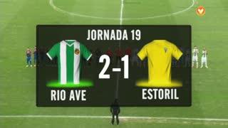 I Liga (19ªJ): Resumo Rio Ave FC 2-1 Estoril Praia