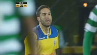 FC Arouca, Jogada, Rui Sampaio aos 12'